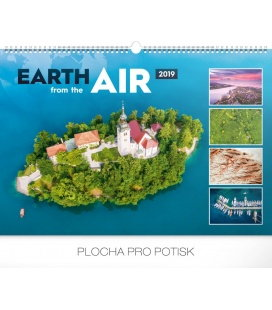 Wall calendar Earth from the air 2019