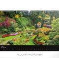 Wall calendar Gardens 2019