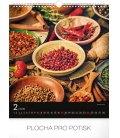 Nástěnný kalendář Koření a bylinky 2019