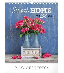 Nástěnný kalendář Sweet home 2019