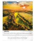 Wall calendar Wanders around Czech landscape 2019