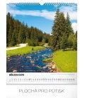 Nástěnný kalendář Vodní království 2019