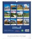 Wall calendar Čarokrásne Slovensko 2019