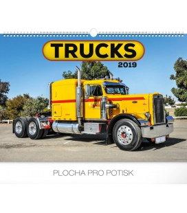 Wandkalender Trucks 2019