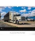 Wall calendar Trucks 2019
