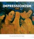 Nástěnný kalendář Impresionismus 2019