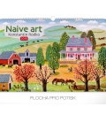 Wall calendar Naive Art – Konstantin Rodko 2019