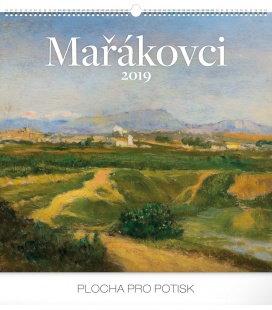 Nástěnný kalendář Mařákovci 2019