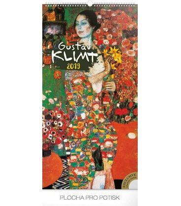Nástěnný kalendář Gustav Klimt 2019