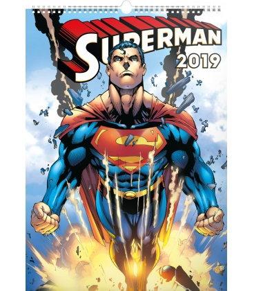 Nástěnný kalendář Superman – Plakáty 2019