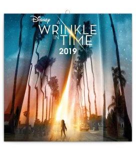 Wall calendar Wrinkle in time 2019