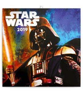 Nástěnný kalendář Star Wars Classics 2019