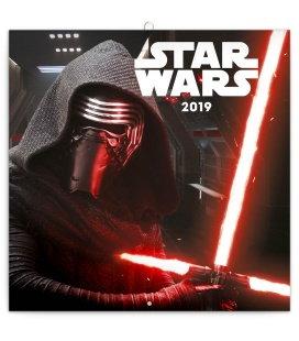 Nástěnný kalendář Star Wars 2019