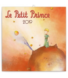 Nástěnný kalendář Malý princ 2019