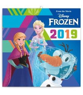 Wall calendar Frozen 2019