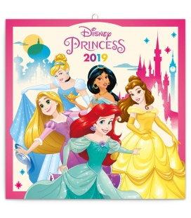 Wall calendar Princess 2019