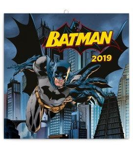 Nástěnný kalendář Batman 2019