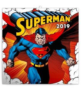 Nástěnný kalendář Superman 2019