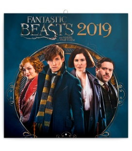 Wall calendar Fantastic Beasts 2019