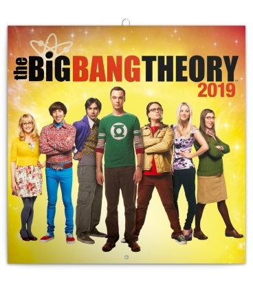 Nástěnný kalendář Teorie velkého třesku 2019
