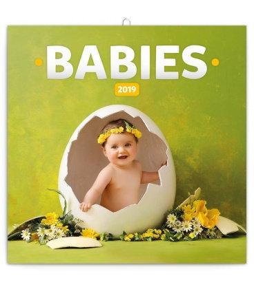 Nástěnný kalendář Babies – Věra Zlevorová 2019