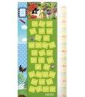 Wall calendar The Little Mole – height measurement calendar 2019