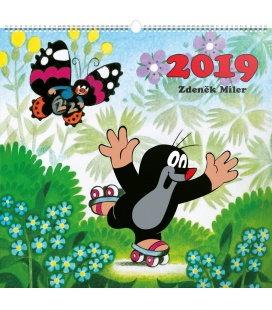 Nástěnný kalendář Krteček 2019