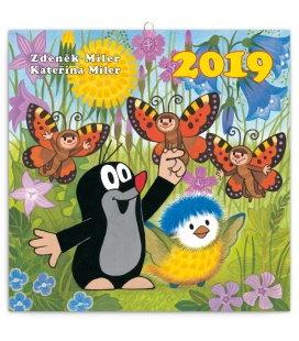 Wall calendar The Little Mole 2019