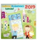 Wandkalender Family planner 2019