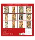 Wall calendar Alphonse Mucha 2019