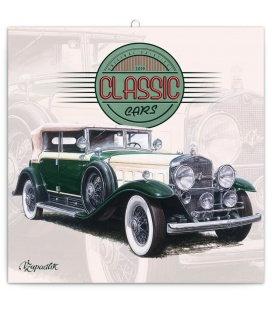 Nástěnný kalendář Classic Cars – Václav Zapadlík, 2019