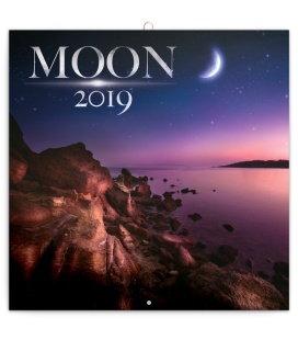 Wall calendar Moon 2019
