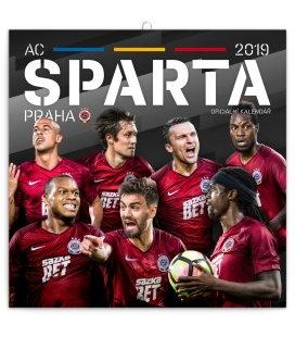Nástěnný kalendář AC Sparta Praha (ilustrativní foto) 2019