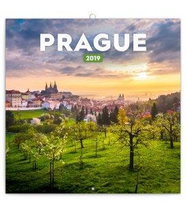 Wandkalender Prague summer 2019