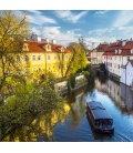Nástěnný kalendář Praha letní 2019