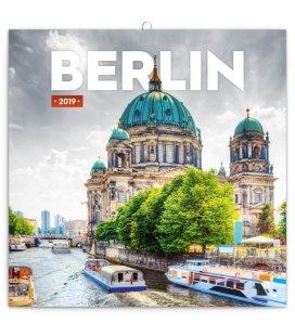 Nástěnný kalendář Berlín 2019