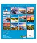 Nástěnný kalendář Majáky 2019