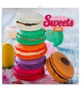 Wandkalender Sweets 2019
