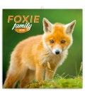 Wall calendar Foxie family 2019