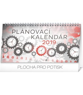 Table calendar Weekly planner SK 2019