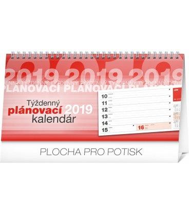 Stolní kalendář Plánovací riadkový SK 2019