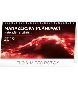 Stolní kalendář Manažérsky s citátmi SK 2019