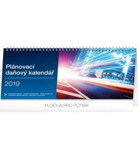 Stolní kalendář Plánovací daňový 2019