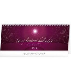 Stolní kalendář Nový lunární kalendář 2019