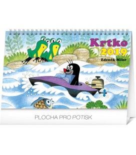 Stolní kalendář Krtko SK 2019