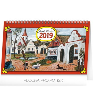 Table calendar Josef Lada – In the village 2019