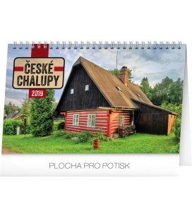Table calendar Czech cottages 2019