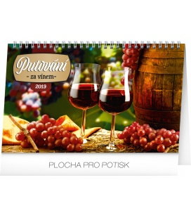 Table calendar Wine destinations 2019