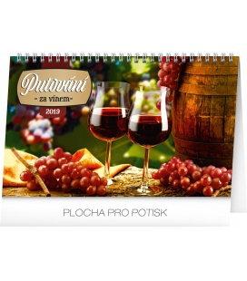 Tischkalender Wine destinations 2019