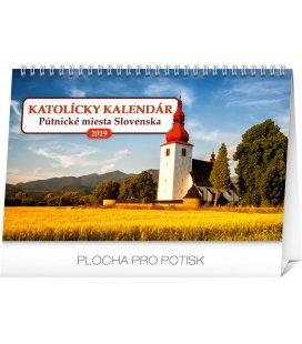 Stolní kalendář Katolícky kalendár SK 2019